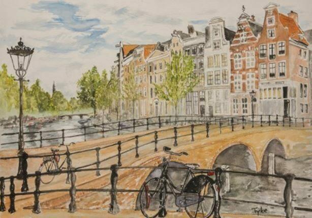 Amsterdam door Tyke Signe